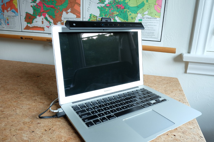 BenQ ScreenBar Lite on a MacBook